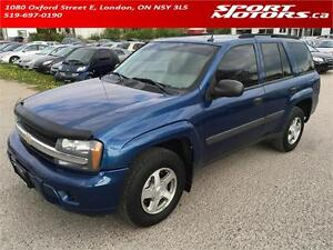2005 Chevrolet TrailBlazer 4x4! BRAND NEW BRAKES! A/C! Keyless!