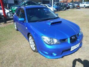 2005 Subaru Impreza S MY05 WRX AWD Blue 5 Speed Manual Hatchback Kippa-ring Redcliffe Area Preview
