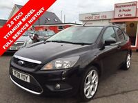 FORD FOCUS 2.0 TITANIUM TDCI 5d 136 BHP 6 SPEED, HIGH MPG DIE (black) 2008