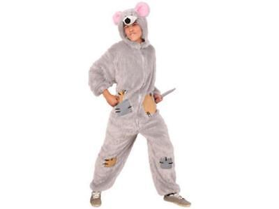 ★ Mauskostüm,Ratte Plüsch Kostüm 50-56  Tierenkostüm Maus Tier Mausch Erwachsene