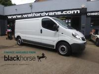 2013 Vauxhall Vivaro 2,9t 2.0CDTi 115ps LWB Bluetooth Diesel white Manual