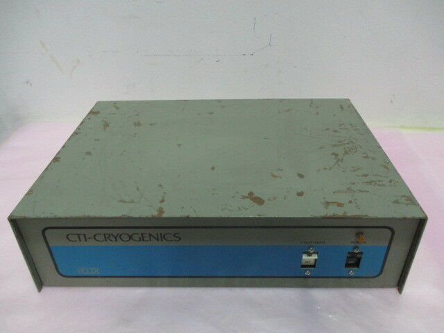 "CTI-Cryogenics 8039155 G002, Scott ""T"" Controller, Cryogenic Pump, Helix. 416259"