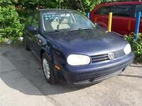 2000 Volkswagen Golf GLS,VERY GOOD CONDITION