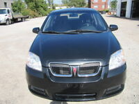 2008 Pontiac Wave Sedan-Etest, Safety available
