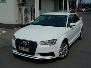 2015 Audi A3 8V MY16 Attraction S Tronic White 7 Speed Sports Automatic Dual Clutch Sedan North Lakes Pine Rivers Area Preview