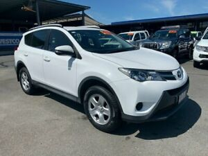 2014 Toyota RAV4 ZSA42R MY14 GX 2WD Glacier White 7 Speed Constant Variable Wagon Bungalow Cairns City Preview