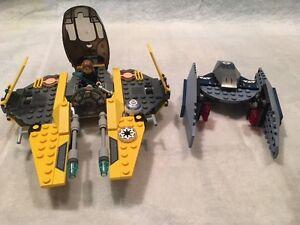 Lego 7256  Jedi Starfighter & Vulture Droid