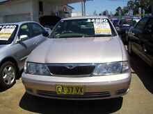 2002 Toyota Avalon MCX10R MK2 Sorrento Gold 4 Speed Automatic Sedan Woodbine Campbelltown Area Preview