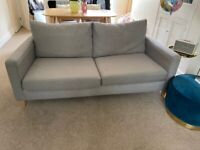 John Lewis 'Bailey' Large Grey 3 seater Sofa £200 (open to offers)