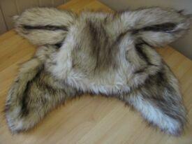 Asos Faux Fur Bunny Ear Hat