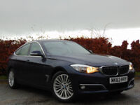 BMW 3 SERIES 2.0 320D LUXURY GRAN TURISMO 5d AUTOMATIC (blue) 2013