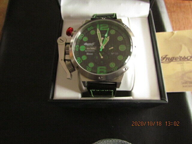 MENS  INGERSOLL BISON   AUTOMATIC NUMBER -33 LIMITED ADDITION   52/M/M CASE
