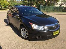 2012 Holden Cruze JH MY13 CD Black 6 Speed Automatic Sedan Homebush West Strathfield Area Preview
