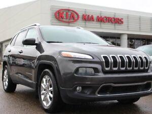 2014 Jeep Cherokee LIMITED, HEATED / COOLED SEATS, HEATED WHEEL,