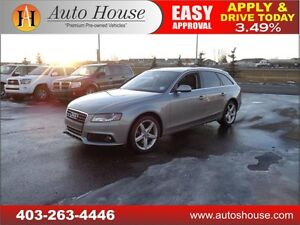 2010 AUDI A4 WAGON LOADED PANOROOF PUSH START 90DAYNOPAYMENT