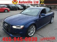 2013 Audi A4 SLINE NAVIGATION AWD!! EVERYONE APPROVED!!