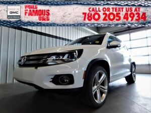 2015 Volkswagen Tiguan HIGHLINE. Text 780-205-4934 for more info