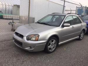 2005 SUBARU IMPREZA AWD/LOW KMS ONLY 130K/SUNROOF/ALLOYS!