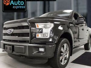 2015 Ford F-150 Lariat loaded up with NAV, sunroof, heated/coole