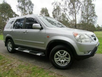 2002 Honda CR-V RD MY2002 Sport 4WD Silver 5 Speed Manual Wagon Doveton Casey Area Preview