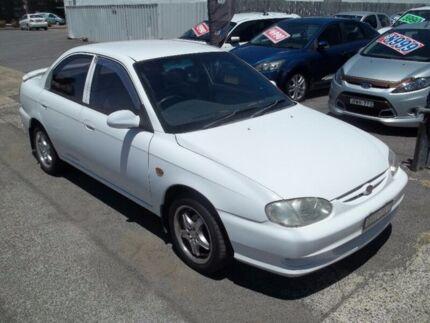 1999 Kia Mentor S2 SLX White 5 Speed Manual Sedan