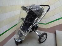 Quinny Buzz pushchair & raincover - black £50