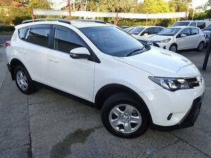 2015 Toyota RAV4 ZSA42R MY14 Upgrade GX (2WD) White Continuous Variable Wagon Sylvania Sutherland Area Preview