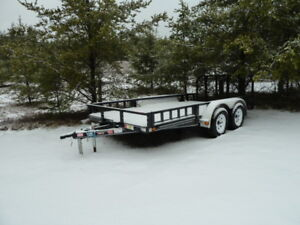 (new) P.J. Utility 14FT.  Trailer ( Tandem Axle)