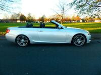 2010 10'reg BMW 330d M Sport Highline Auto Convertible **34,000 miles**