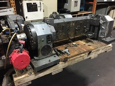 Peiseler Awup 160 Nc Rotary Table W Tailstock Fanuc Motor 3 Used