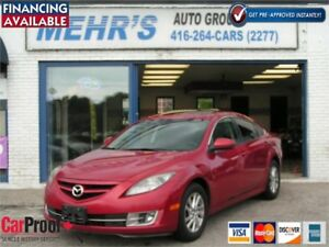 2009 Mazda Mazda6 GT Leather Loaded Sunroof P-Seat No Accident