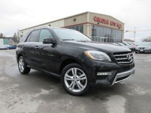 2015 Mercedes-Benz M-Class ML 350 BlueTEC, NAV, ROOF, LEATHER!