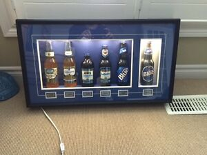 Labatt Blue Collectible/Historic Bottle Display Belleville Belleville Area image 2