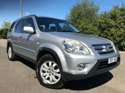 2004 Honda CR-V MY04 (4x4) Sport Silver 4 Speed Automatic Wagon