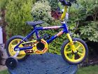 Child's bike and stabilisers