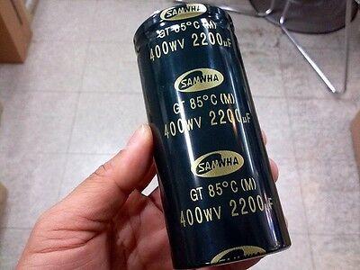 Samwha Electrolytic Capacitor 2200uF, 400V