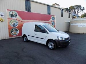 2012 Volkswagen Caddy 2K MY13 TDI250 White 7 Speed Automatic Van West Gosford Gosford Area Preview
