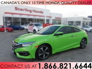 2017 Honda Civic Coupe TOURING | 1 OWNER | NO ACCIDENTS