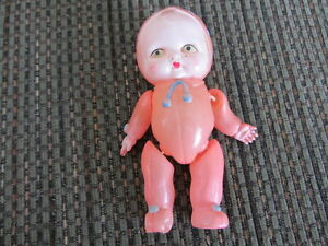 Vintage Celluloid Doll & Doll Rattle