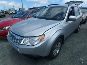 2011 Subaru Forester X Convenience Low kilometers accident free