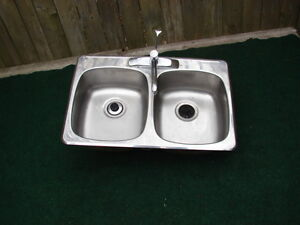 Double sinks maytag with Sink Taps