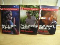 Mills & Boon- Romantic suspense, Cherish and others 20p each