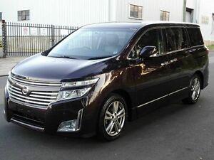 2011 Nissan Elgrand E52 HWS Premium Black 5 Speed Tiptronic Wagon Taren Point Sutherland Area Preview
