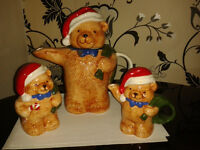 Christmas Teapot set