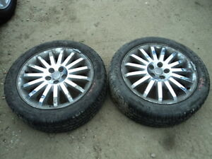 2 Cooper Tires with Rims for PT Cruiser 205/50/17