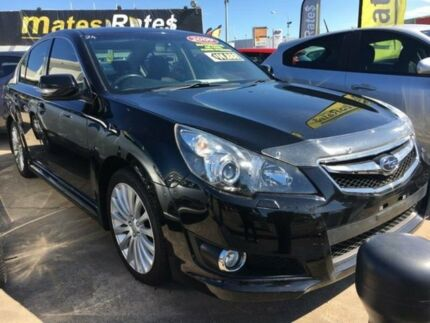 2009 Subaru Liberty B5 MY10 2.5i Sports Lineartronic AWD Premium Black 6 Speed Constant Variable
