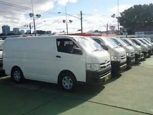 2011 Toyota Hiace KDH201R MY11 Upgrade LWB White 5 Speed Manual Van Canada Bay Canada Bay Area Preview