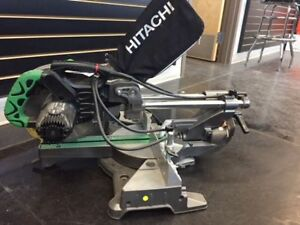 HITACHI MITRE SAW - USED BUT VERY GOOD CONDITION $225.00