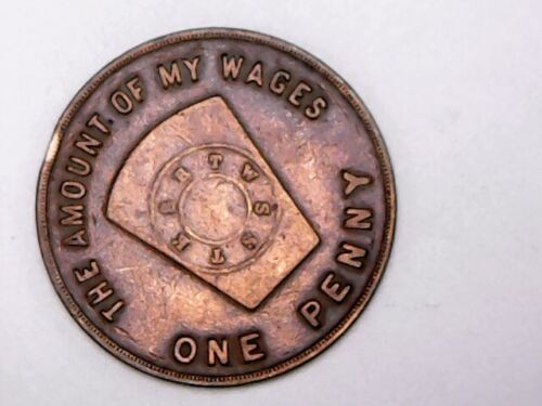 The Amount of My Wages One Penny Medford Mass - Mystic Royal Arch Charter