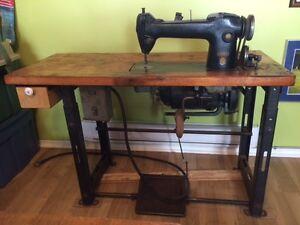 1951 Industrial Singer 241-12 Sewing Machine
